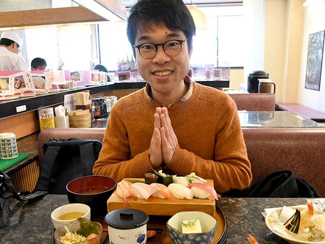 金沢でかねた寿司のランチはかなりお得