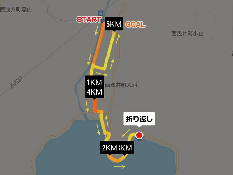 5kmコース