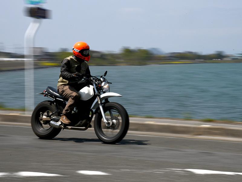TWでバイクツーリング琵琶湖最高