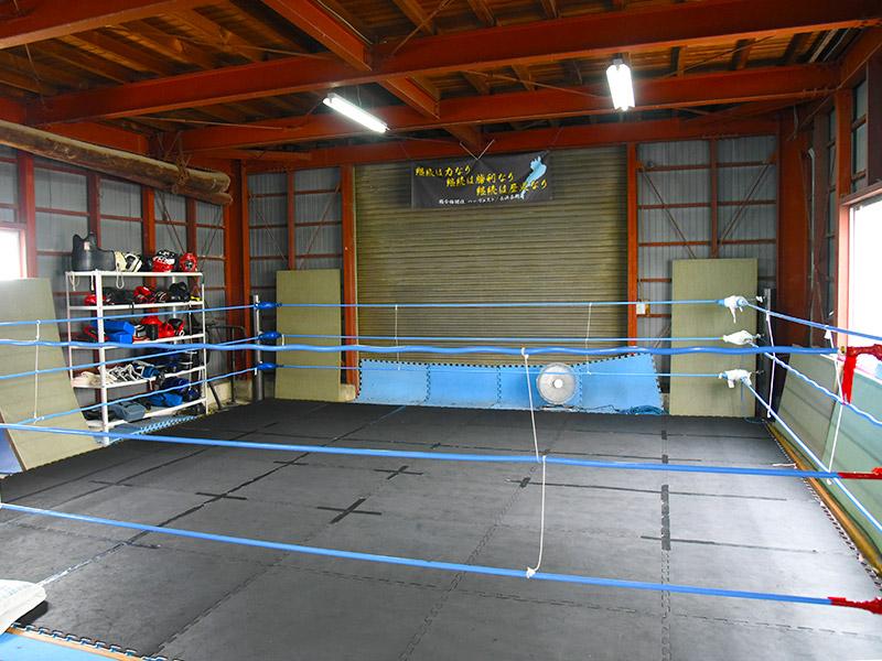長浜市内にある総合格闘技道場ハーヴェスト