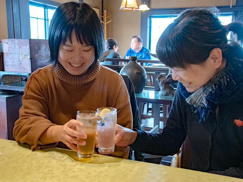 良太郎で昼から乾杯!