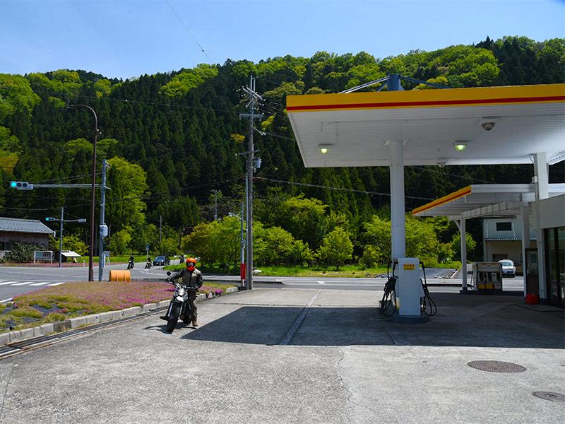 昭和シェル石油 木之本 SS (高橋石油)でガソリンを給油