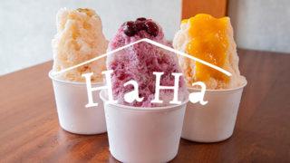 長浜の暑い夏にぴったり!HaHaの自家製シロップで食べる特製かき氷が絶品だった