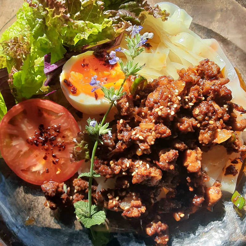 ピリ辛マーラー麺